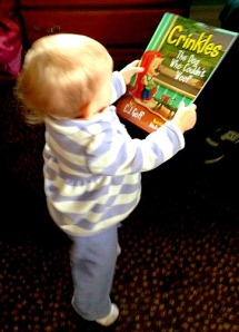 Please read this book to me daddy!