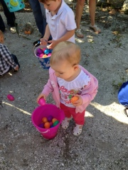 Easter egg hunt at MarVista