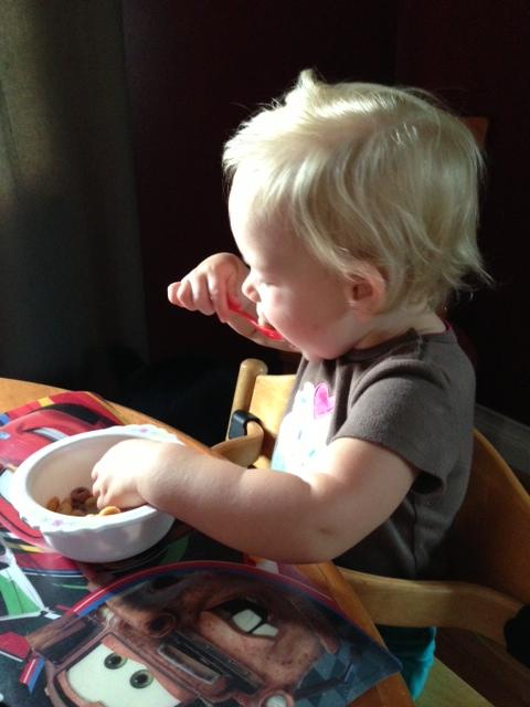 Cereal and Milk #Breakfast