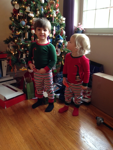 Happy and very spoiled little elves
