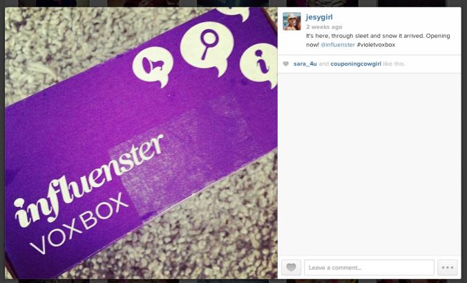 #Influenster #VioletVoxBox