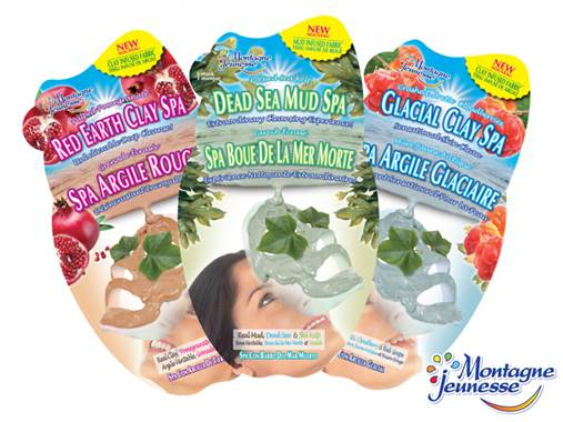 Montagne Jeunesse Clay Spa Masques