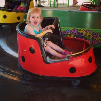 But look at how much fun she is having!! #worthit