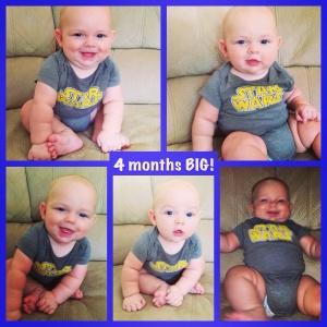 4 months big