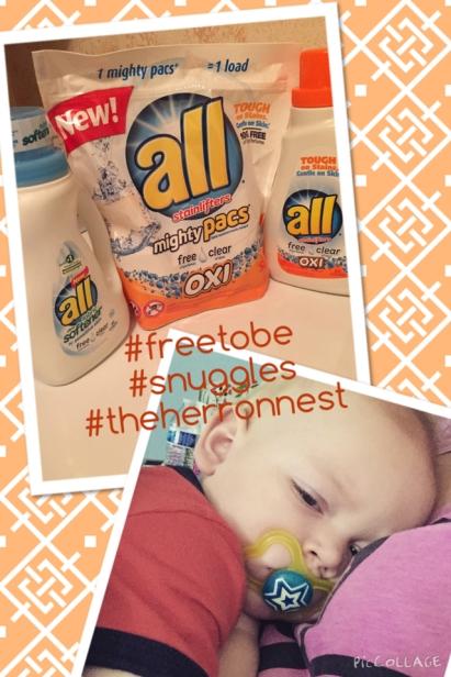 #freetobe #snuggles #sickbaby